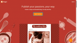 Click On Create Your Blog